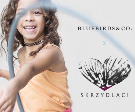 Wspólna Akcja Fundacji Skrzydlaci i marki Bluebirds & Co.